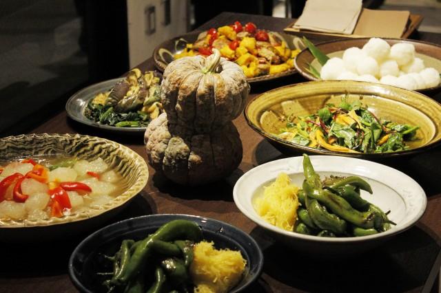 憧れる程のくびれが魅惑的な南瓜は、京野菜の鹿ケ谷南瓜。
