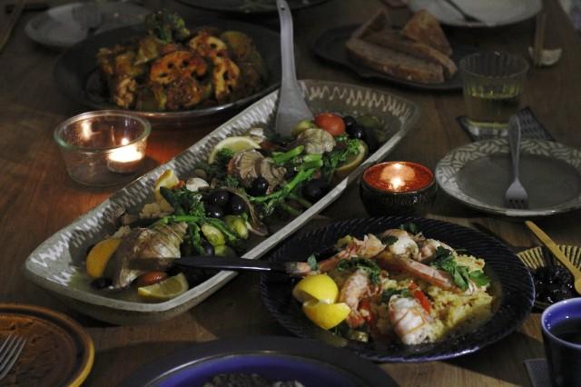 140216ミノカモハウス地中海の宴0