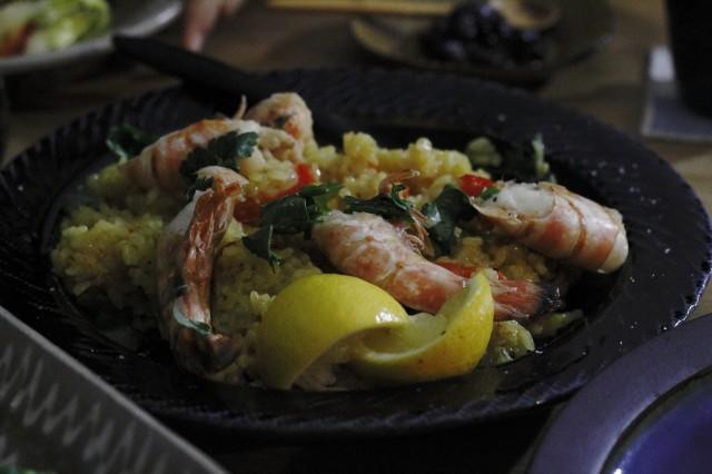 140216ミノカモハウス地中海の宴2